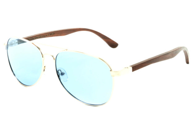 Aqua Blue HD Generals (Aviators)