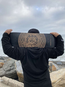 Aztec Calendario Skateboard Deck