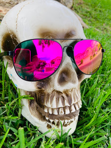 Pink Polarized Aviators