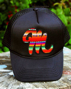 "Serape ""M"" Movimiento Hats"
