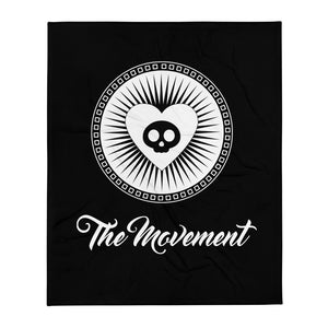 Movement Skull Throw Blanket