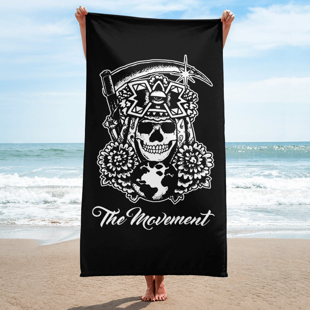 Time's Up Beach Towel 🏖