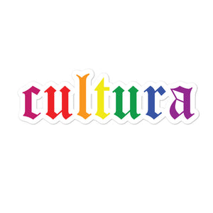 Cultura Pride Bubble-free stickers