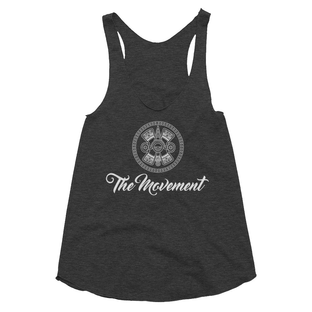 Ollin Summer 2019 Women's Tri-Blend Racerback Tank
