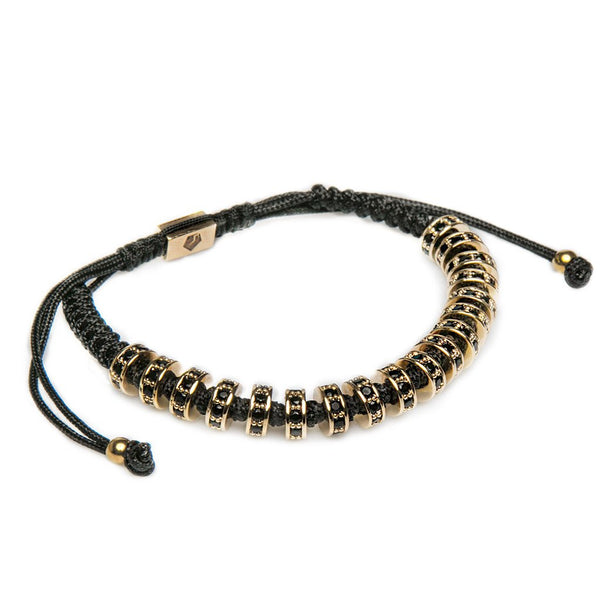 Gold Plated Multistoppers Bracelet