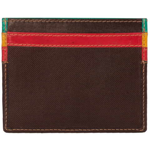 Zen Genuine Leather Unisex MultiColoured Card Holder