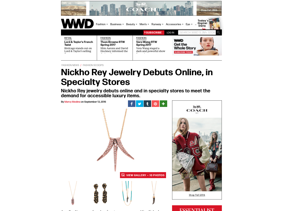 WWD features Nickho Rey