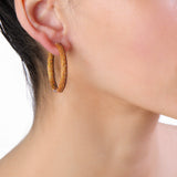 Tire Hoop Earrings