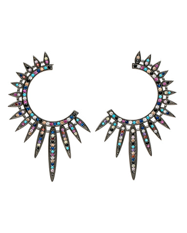 Statement Sunburst Earrings
