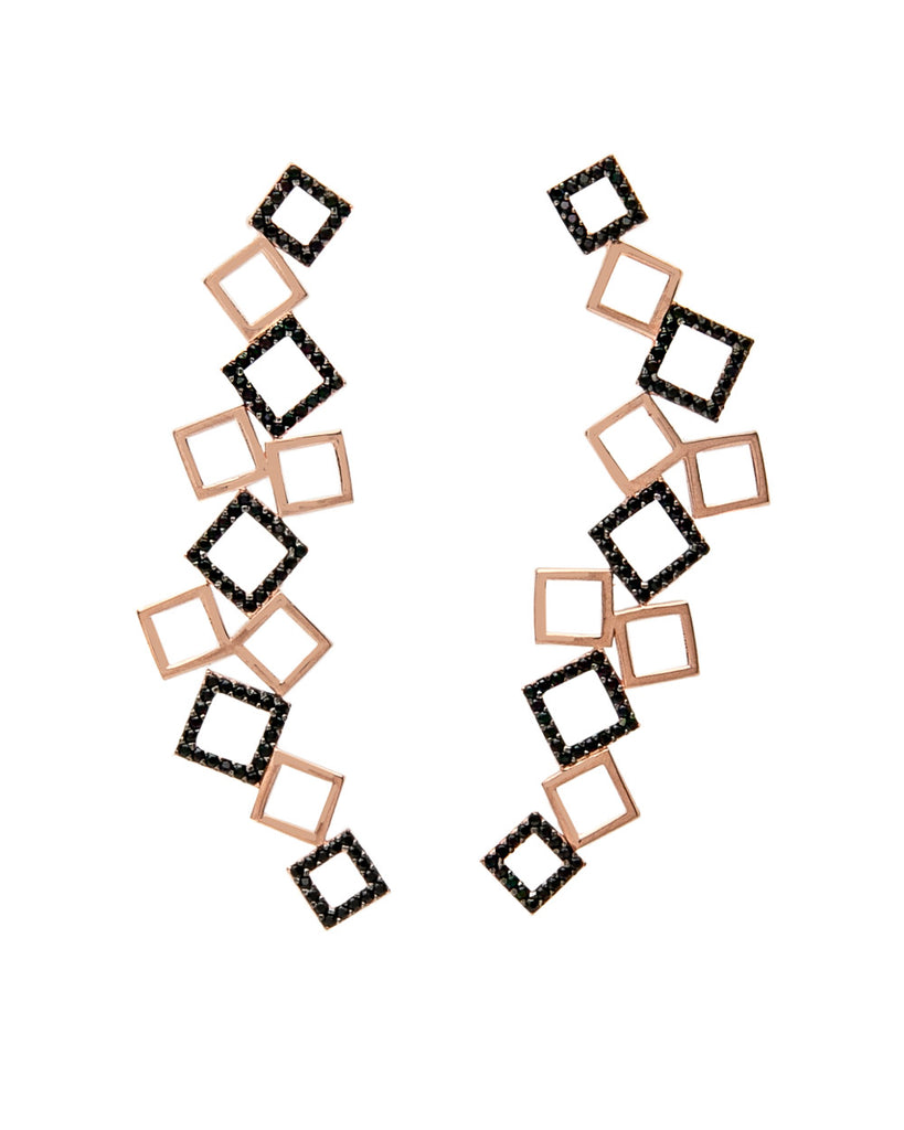 Jaqueline Square Earrings