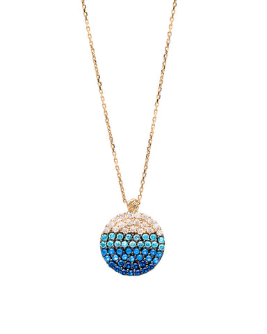 Malibu Disc Necklace