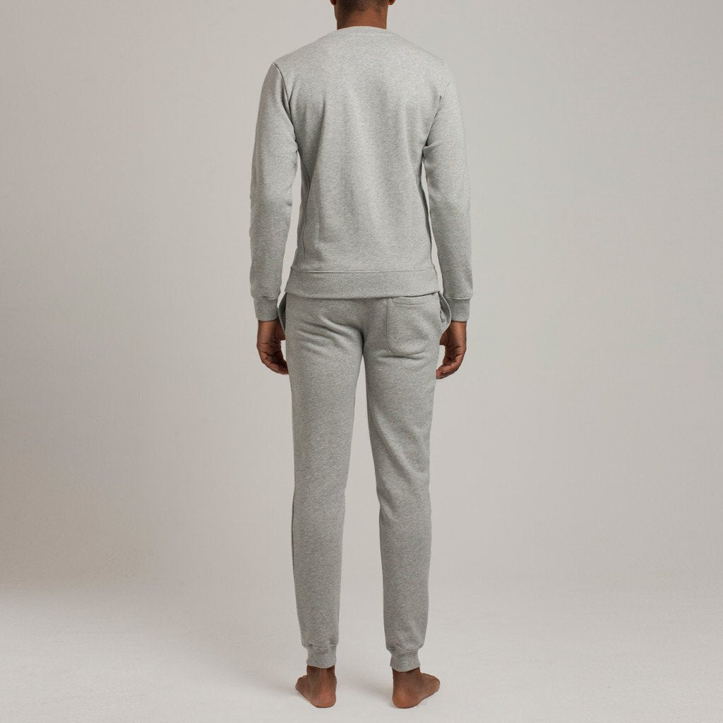 Barrow Loop Terry Sweatpants - Grey - Mens Loungewear | Etiquette Clothiers Global Official