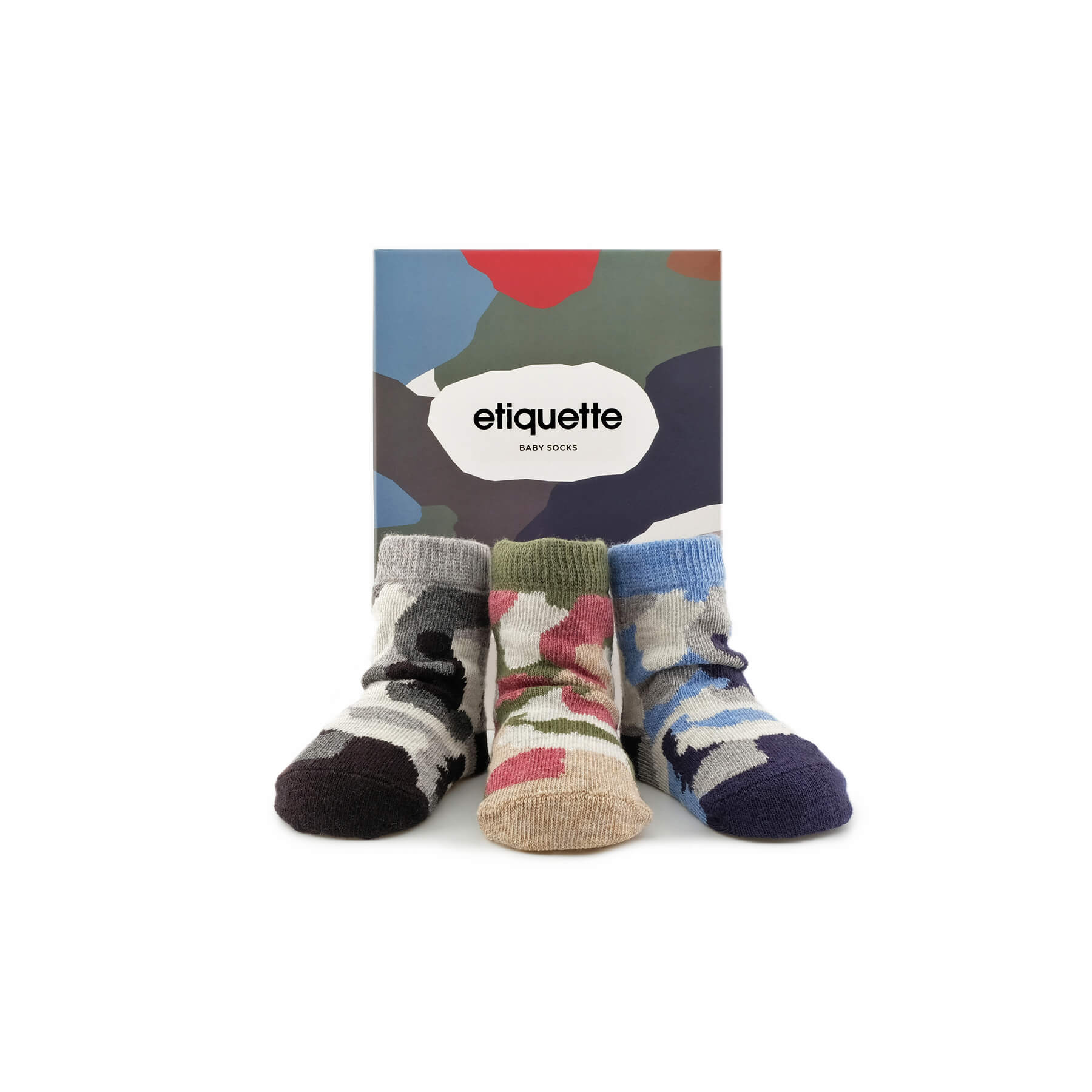 Camouflage Baby Socks Bundle - Multi