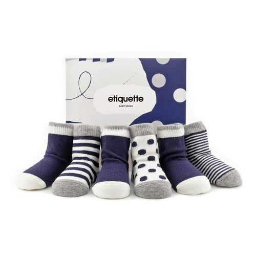 Classic Sky Baby Socks Bundle