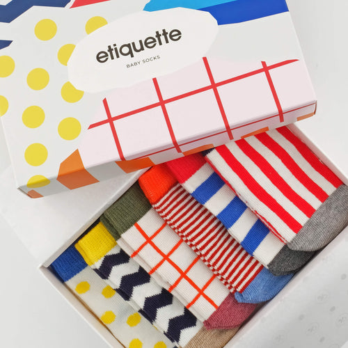 Graphix Baby Socks Bundle  - Alt view