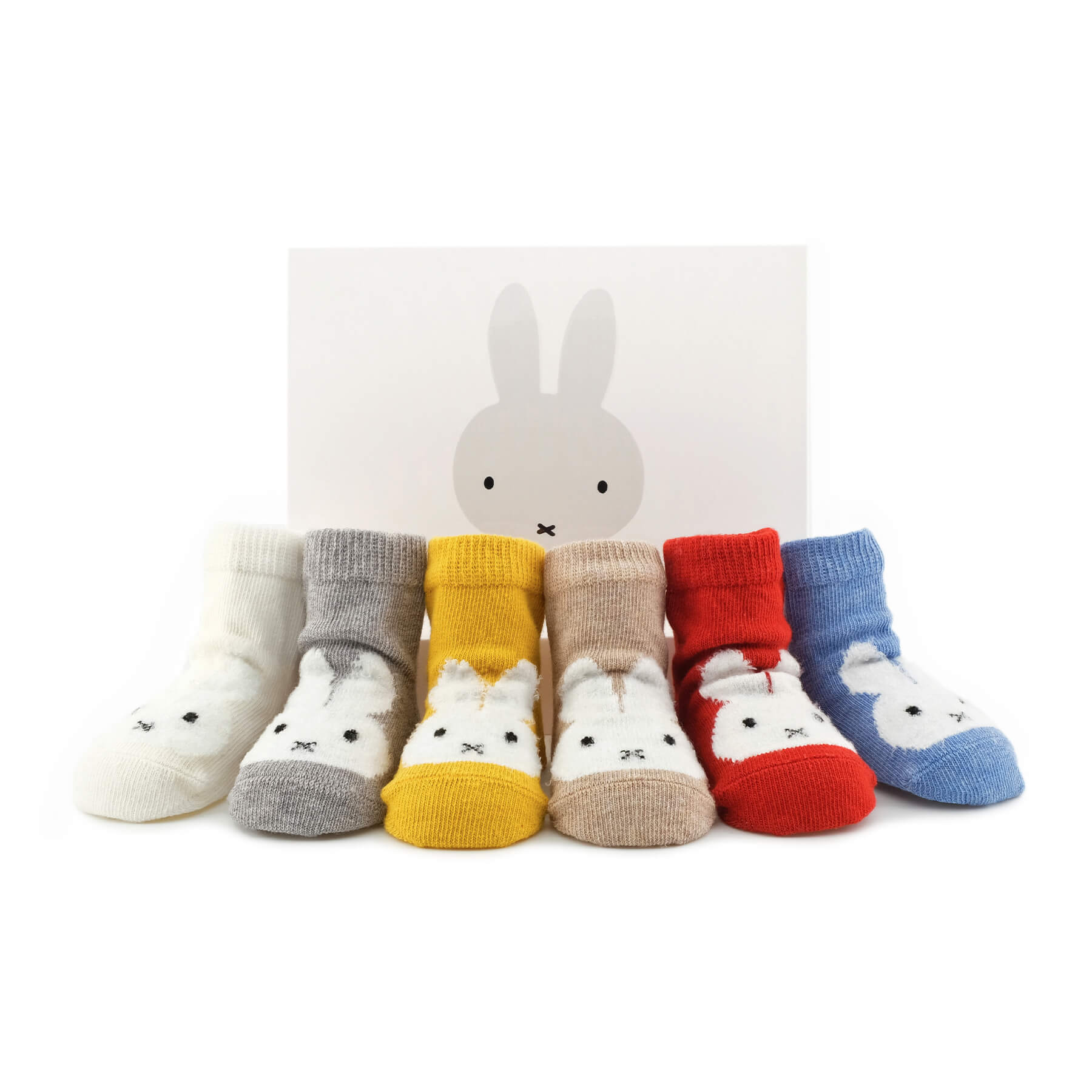Miffy x Etiquette Vintage Baby Socks Bundle - Multi