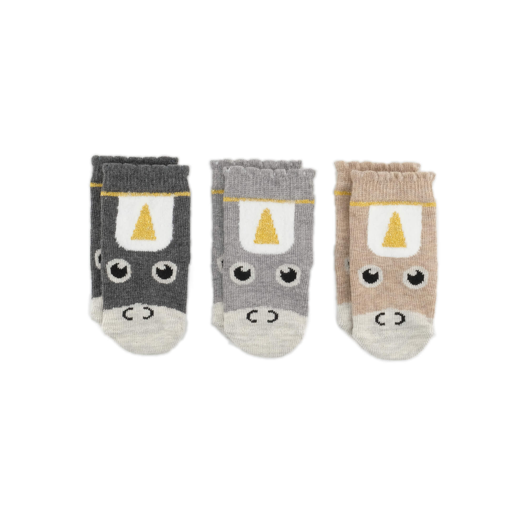 Unicorn Baby Socks Bundle - Multi