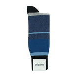 Lisbon Stripes - Blue - Mens Socks | Etiquette Clothiers Global Official