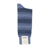 Etiquette x Tenue De Nimes Tokyo Stripes - Blue - Mens Socks | Etiquette Clothiers Global Official