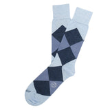 Etiquette x Tenue De Nimes Harlequin - Blue - Mens Socks | Etiquette Clothiers Global Official