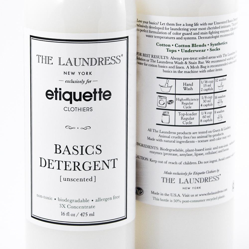Etiquette x The Laundress - Basics Detergent - Mens Socks | Etiquette Clothiers Global Official