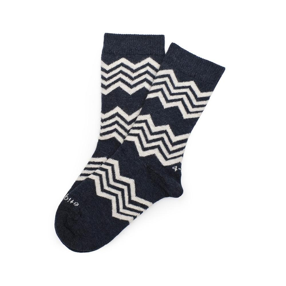 Alpine Stripes - Vintage Blue Heather - Image 1