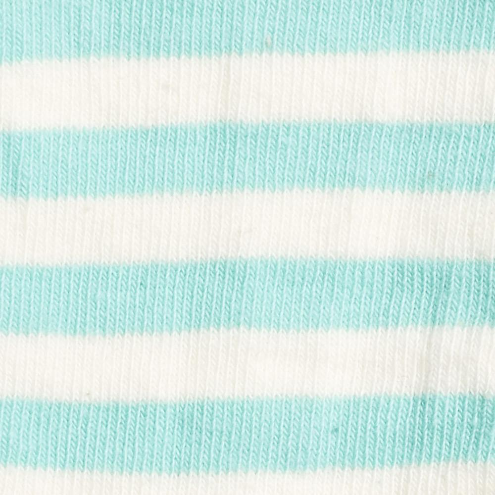Abbey Stripes - Teal - Kids Socks - Etiquette - global.etiquetteclothiers.com