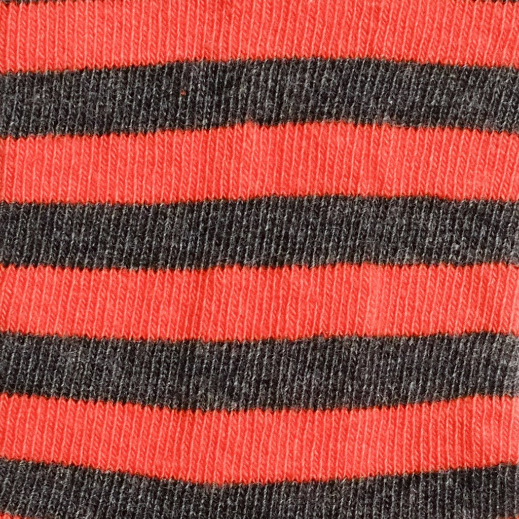 Abbey Stripes - Rust - Kids Socks - Etiquette - global.etiquetteclothiers.com