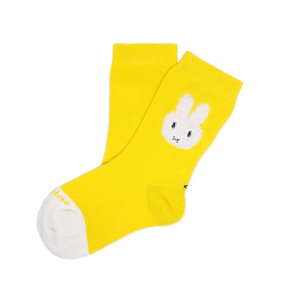 Etiquette x Miffy - Yellow - Kids Socks - Etiquette - global.etiquetteclothiers.com