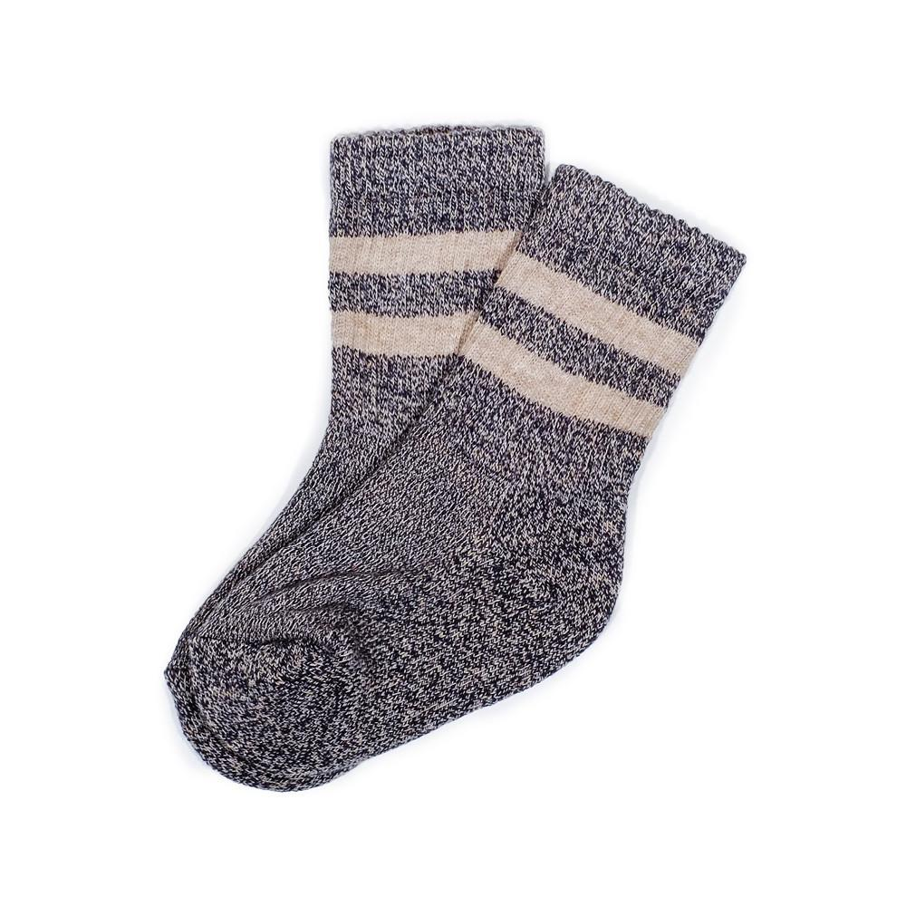 Terry Boot Sock - Grey - Kids Socks | Etiquette Clothiers Global Official