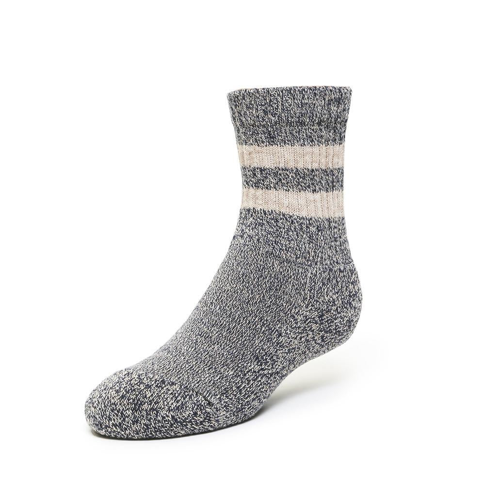 Terry Boot Sock - Navy - Kids Socks - Etiquette - global.etiquetteclothiers.com