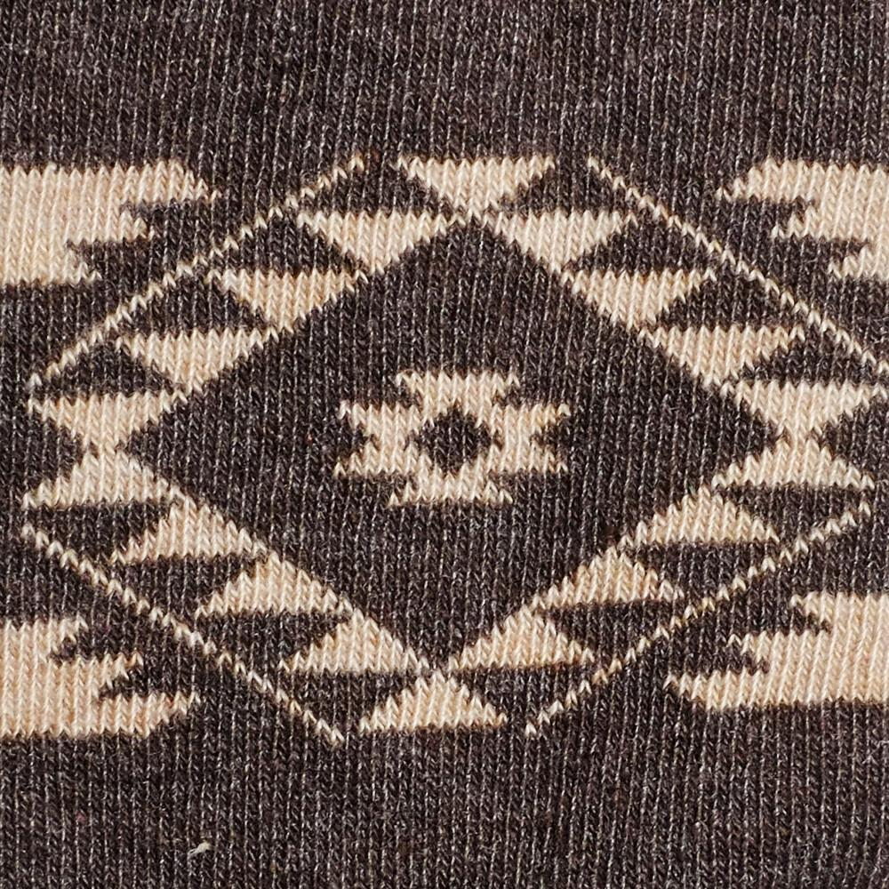 Tribal - Vintage Brown Heather - Kids Socks - Etiquette - global.etiquetteclothiers.com