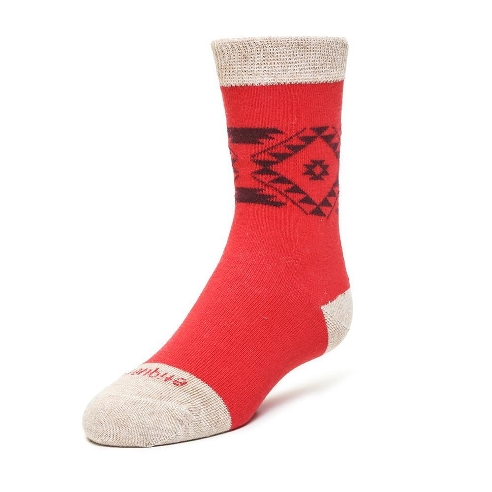 Tribal - Fire Red - Kids Socks - Etiquette - global.etiquetteclothiers.com