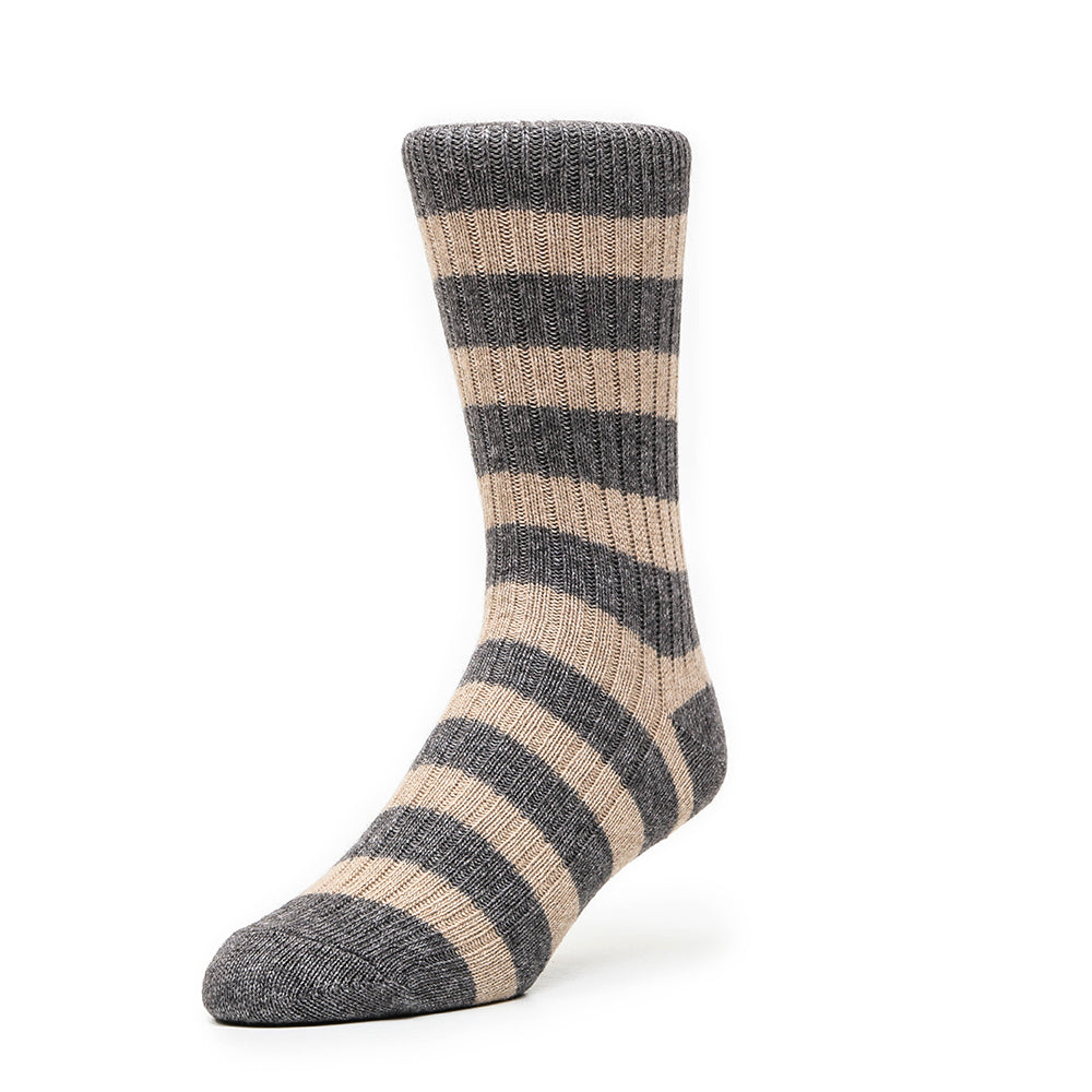 Lots Of Cash Preppy - Dark Grey Taupe - Socks - Etiquette - global.etiquetteclothiers.com