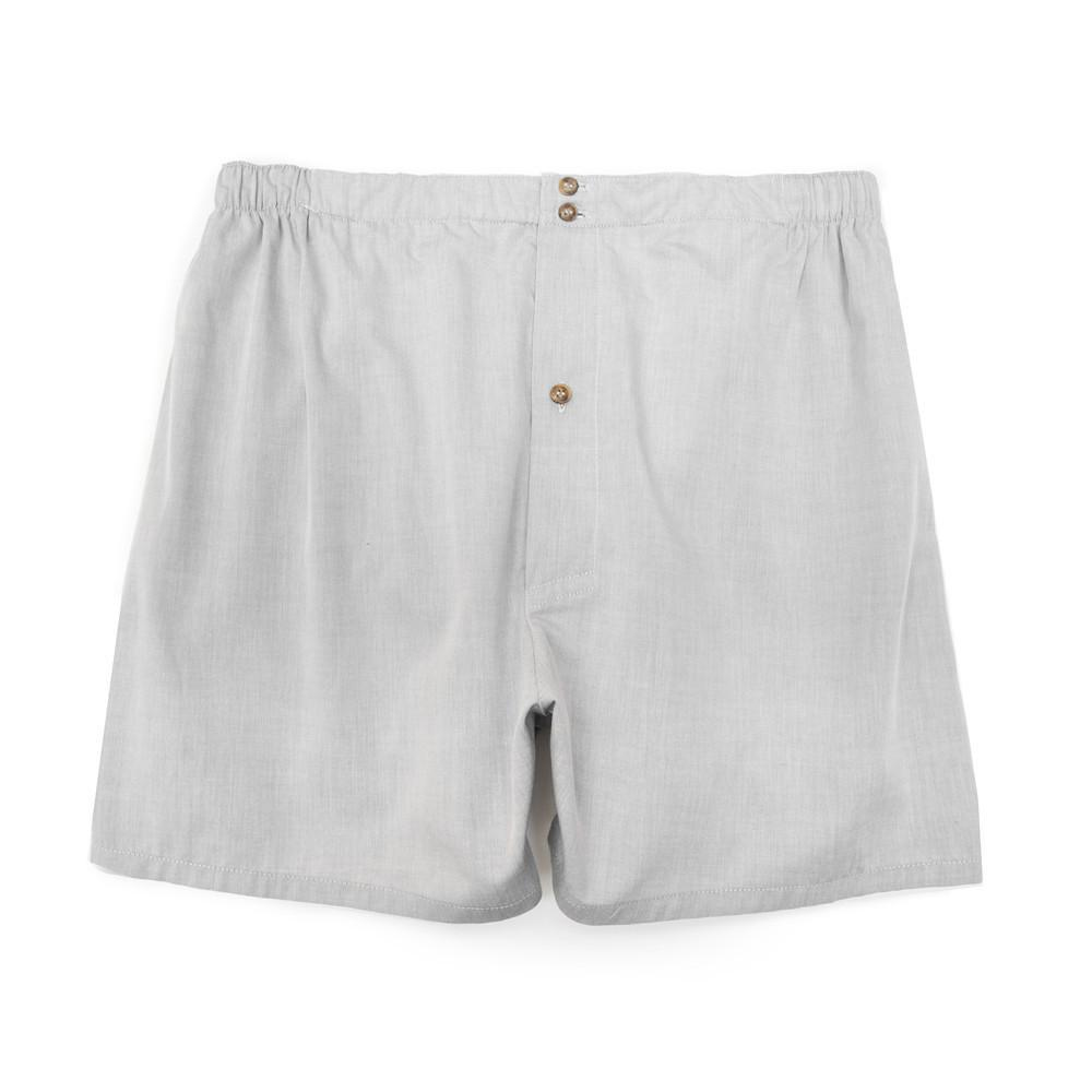 Luxury Boxer Shorts - Grey - Mens Underwear | Etiquette Clothiers Global Official