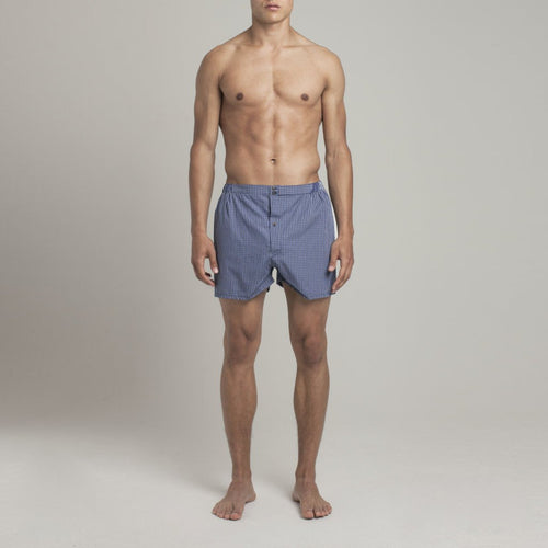 Luxury Boxer Shorts Checker  - Alt view