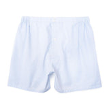 Luxury Boxer Shorts Fine Lines - Blue - Thumb Image 1