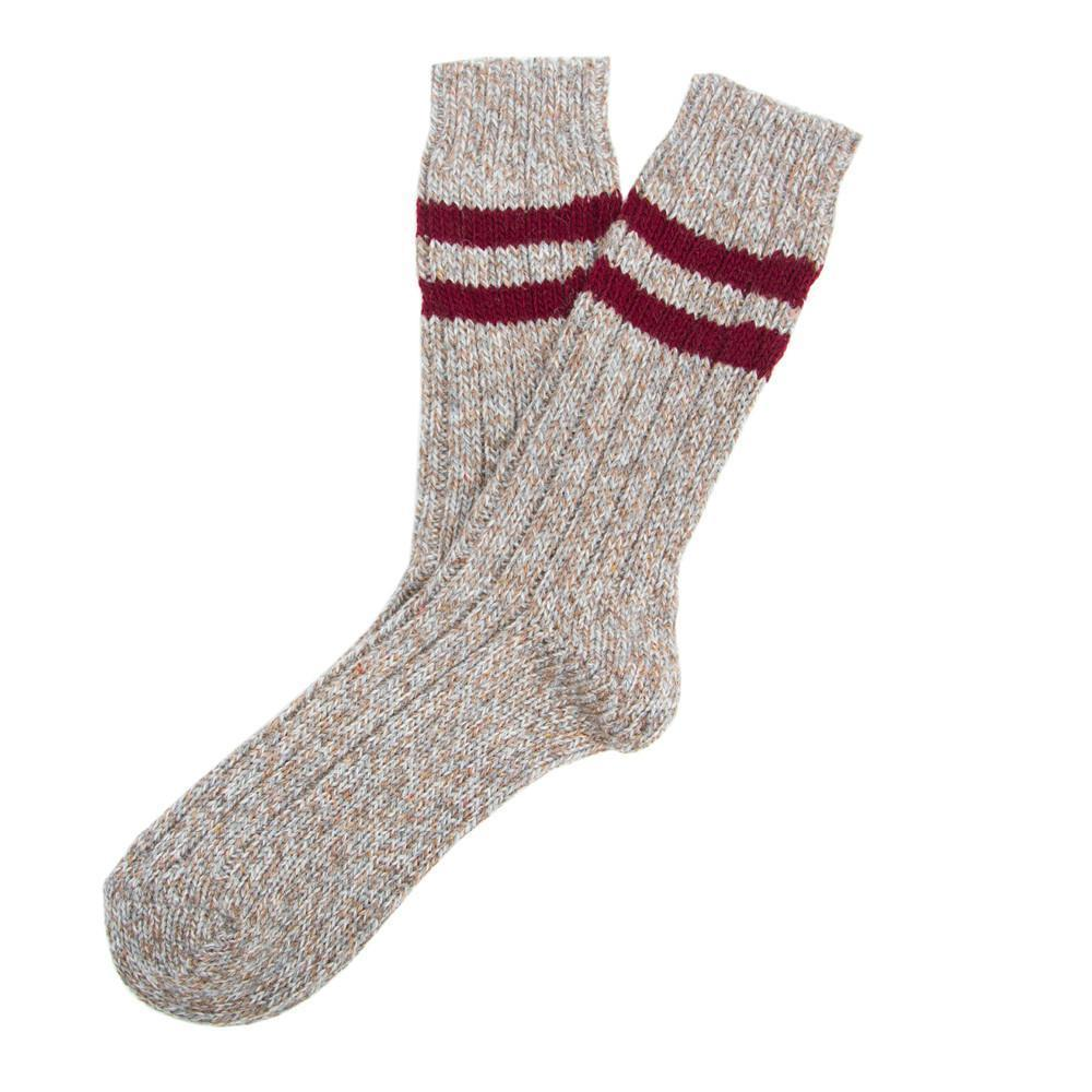 Sherpa Rib - Brown - Mens Socks | Etiquette Clothiers Global Official