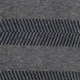 Herringbone Stripes - Dark Grey - Mens Socks | Etiquette Clothiers Global Official