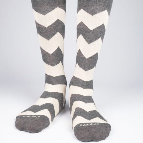 Matterhorn Stripes Men's Socks  - Alt view