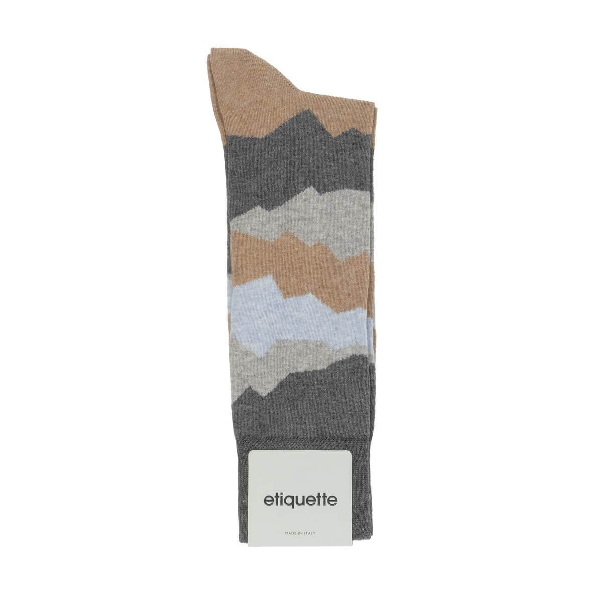 Seismic - Dark Grey - Mens Socks | Etiquette Clothiers Global Official