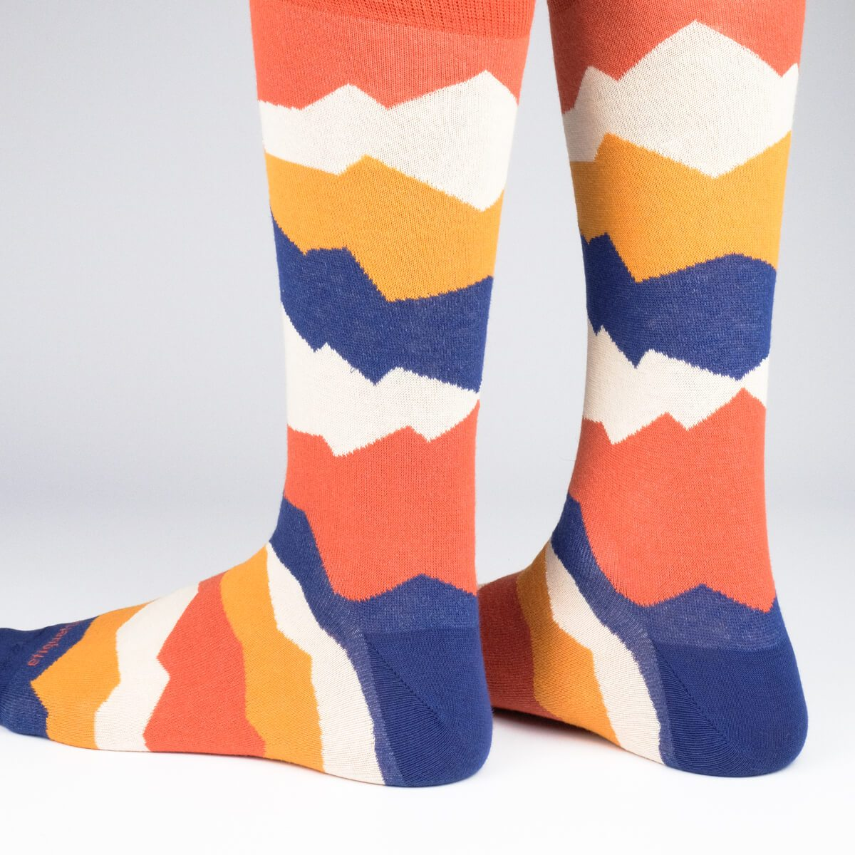 Seismic - Orange - Mens Socks | Etiquette Clothiers Global Official