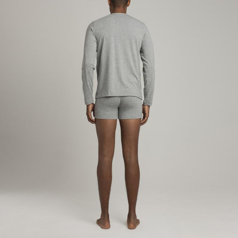 Crosby Henley - Grey - Mens Underwear | Etiquette Clothiers Global Official