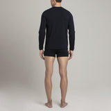 Crosby Henley - Dark Blue - Mens Underwear | Etiquette Clothiers Global Official