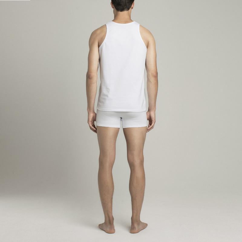 Bowery Tank Top - White - Mens Underwear | Etiquette Clothiers Global Official