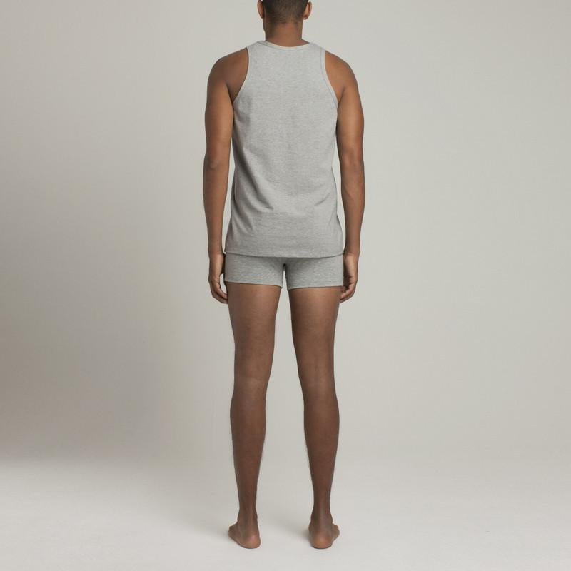Bowery Tank Top - Grey - Mens Underwear | Etiquette Clothiers Global Official