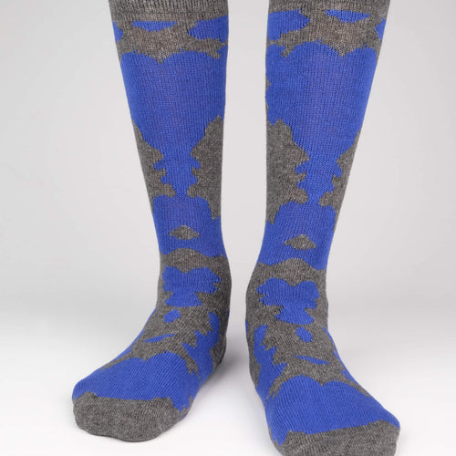 Cashmere Camo Men's Socks  - Alt view