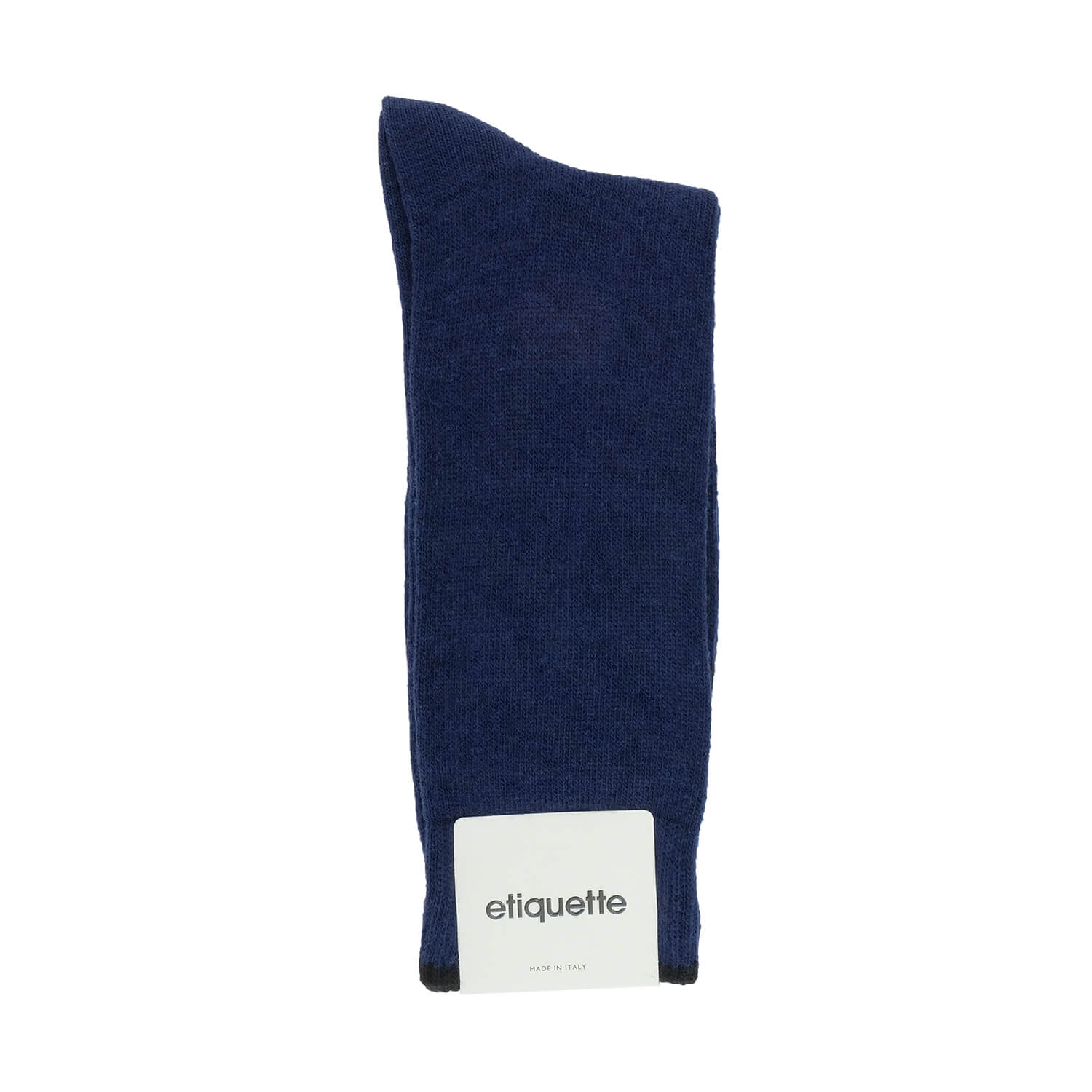 Cashmere Flat Knit - Blue - Mens Socks | Etiquette Clothiers Global Official