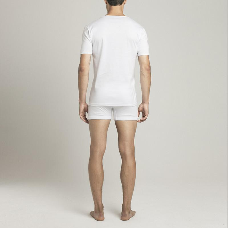 The Fifth V Neck T-Shirt - White - Mens Underwear | Etiquette Clothiers Global Official