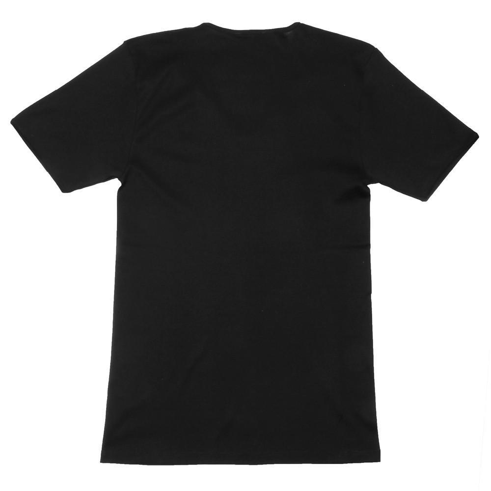The Fifth V Neck T-Shirt - Black - Image 3